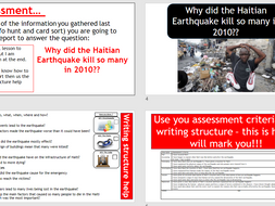 Tectonics Hazards  - Resources and Assessment.