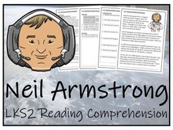 LKS2 Neil Armstrong Reading Comprehension Activity