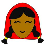 Little Red Riding Hood Masks