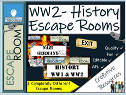 WW2 History Escape rooms