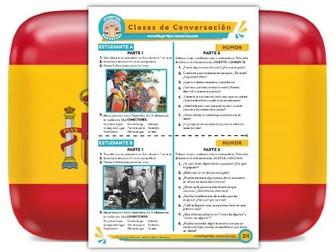 Humor - Spanish Speaking Activity