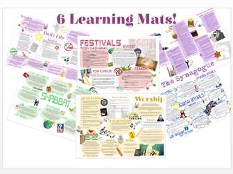 Judaism: Practices Learning Mat Bundle