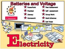 Current Electricity - Does the Number of Batteries Affect the Voltage in a Circuit?  Why? KS3