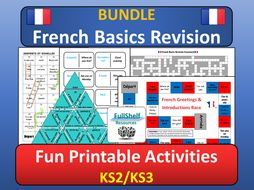 French Basics End of Year Revision