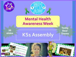 Mental Health Awareness Week KS1 Assembly