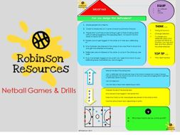 Netball Games and Drills - Physical Education
