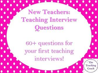 New Teacher Teaching Interview Questions: ITT, RQT, NQT