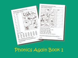 Phonics Again Book 1