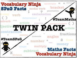 SPaG and Maths SATs Facts Twin Pack