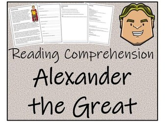 UKS2 History - Alexander the Great Reading Comprehension Activity