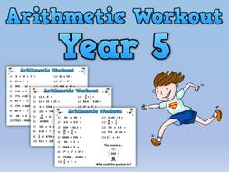 Year 5 Arithmetic Workout