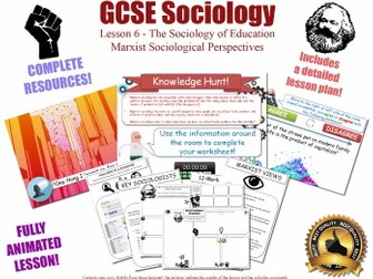 Marxist Perspectives - The Sociology of Education L6/20 [ AQA GCSE Sociology - 8192]  KS4 NEW