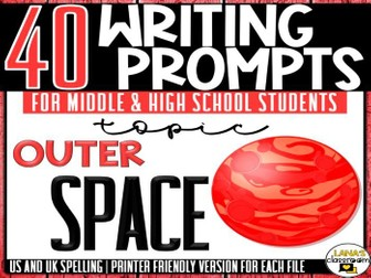 Daily Writing Prompts | Space Exploration | Middle and High School
