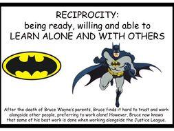 Building Learning Power Superhero Display Posters