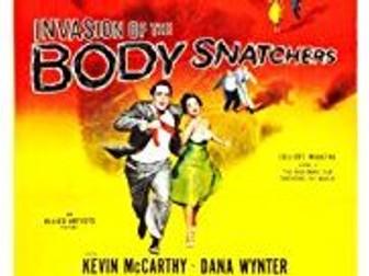 WJEC GCSE Film Studies Invasion of the body snatchers
