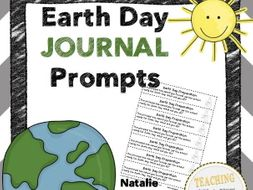 Earth Day Journal: 25 Journal Writing Templates