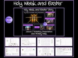 Easter and Holy Week Presentation and Puzzle Pack