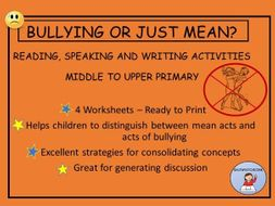 Bullying-ActivitiesforMiddletoUpper Primary