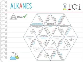 IGCSE Chemistry Topic 24: Alkanes - Tarsia  (KS4)