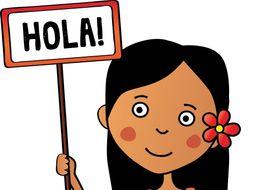 4 Beginner Spanish Readings: Daily Routines, Work, Pets, Careers (Version 2)