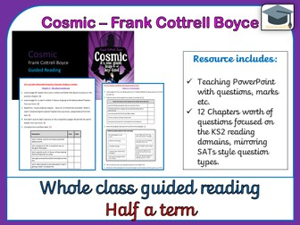 Cosmic - Whole class guided reading