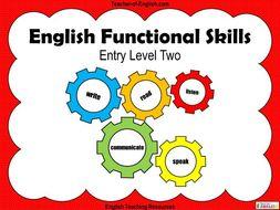 English Functional Skills Entry Level 2 (2019)