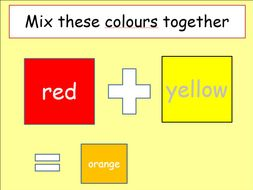 All About Colours Slides