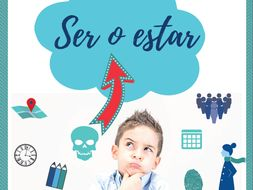 Ser o estar poster (with humour)