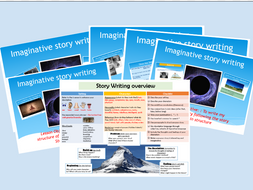 English- Imaginative Story Writing lesson plans and resources