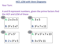 Prime factor decomposition with venn diagram challenge by prime factor decomposition with venn diagram challenge ccuart Choice Image