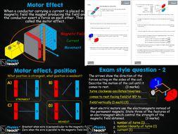 GCSE 9-1 AQA Physics 4.7 - Electromagnetism (whole unit)