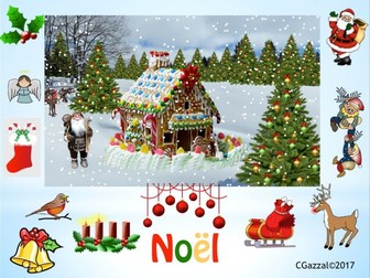 Noël  / Christmas in French.