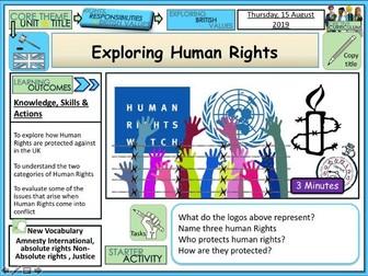 Exploring Human Rights