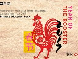 Year of the Rooster - activities to help you Celebrate Chinese New Year
