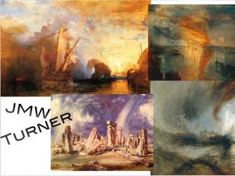 J.M.W. Turner ~ Romance Era ~ 1800s ~ England ~ Art ~ 142 Slides