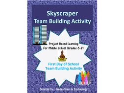 First Day of School - Skyscraper Team Building Activity