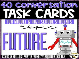 Conversation Starter Cards | Future | Social Skills for Middle&High