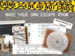 Make your own escape room revision end of term or just - Create your own room ...