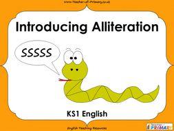 Introducing Alliteration - KS1