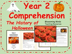 The History of Halloween Comprehension - Year 2