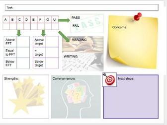 Teacher Examination Analysis Sheet