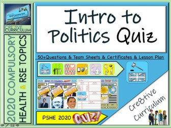 End of Year Politics Quiz