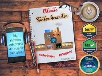 Transition Starter : Starter Generator AFL