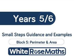 White Rose Maths - Mixed Age Schemes by Year Group - Block 5
