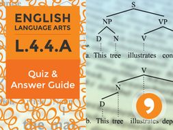 L.4.4.A– Quiz and Answer Guide