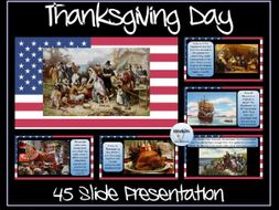 Thanksgiving Day Presentation and Quiz