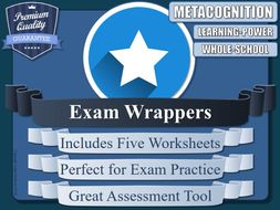 Exam Wrappers (x5)