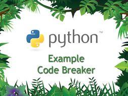 Beginning Python Programming – Code Breaker
