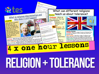Tolerance + Religion