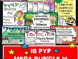 A Mega Bundle of IB PYP Inquiry Based Learning Activities